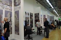 ArchMoscow XIII mostra dell'internazionale di architettura e di progettazione Fotografie Stock Libere da Diritti