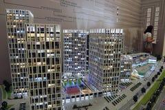 ArchMoscow XIII mostra dell'internazionale di architettura e di progettazione Fotografia Stock