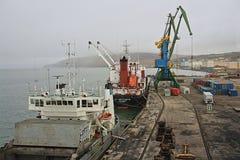 archness Разгржать корабли морского пехотинца в порте стоковое изображение rf