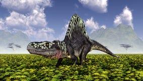 Archosaur Arizonasaurus ελεύθερη απεικόνιση δικαιώματος