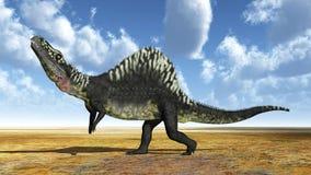 Archosaur Arizonasaurus απεικόνιση αποθεμάτων