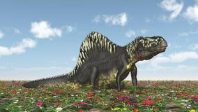 Archosaur Arizonasaurus διανυσματική απεικόνιση
