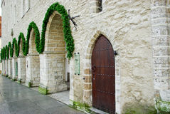 archs αίθουσα πόλεων Στοκ εικόνες με δικαίωμα ελεύθερης χρήσης