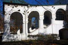 archs λευκό μονή Μόσχα novodevichy Στοκ Φωτογραφία