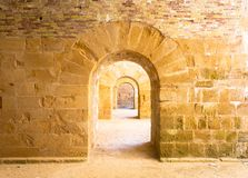 Archs στην προοπτική Στοκ Φωτογραφίες
