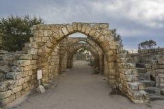 Archs της αρχαίας μάνικας Στοκ φωτογραφία με δικαίωμα ελεύθερης χρήσης