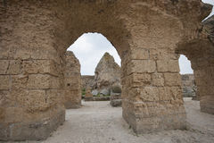 Archs at Antonine Thermae, Tunis, Tunisia Stock Photo