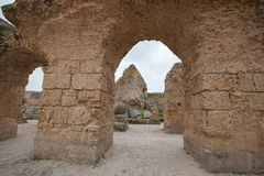Archs at Antonine Thermae, Tunis, Tunisia Stock Photography