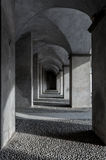 Archs. Arch in savona town fortress Stock Image