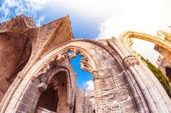 Archs Bellapais opactwo Kyrenia okręg zdjęcia royalty free