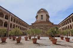 Archs e vasi da fiori Fotografia Stock Libera da Diritti