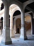 Archs en kolommen Royalty-vrije Stock Foto