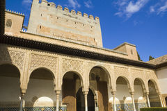 Archs of Patio of Arrayanes royalty free stock photo