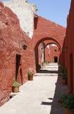 Archs rouges Image libre de droits