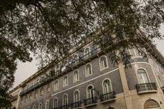 Archtecture/κεραμωμένο κτήριο, Λισσαβώνα, Πορτογαλία Στοκ φωτογραφία με δικαίωμα ελεύθερης χρήσης