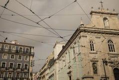 Archtecture, Λισσαβώνα, Πορτογαλία Στοκ φωτογραφία με δικαίωμα ελεύθερης χρήσης