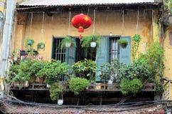 Archtecture του Ανόι στη βροχή Στοκ Εικόνες