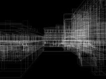 Archticture abstracto Imágenes de archivo libres de regalías