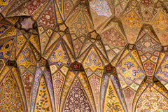 Archtitecture details of Mosque ceiling Royalty Free Stock Photography