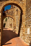 An archway. Royalty Free Stock Photography