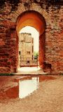 Archway of ancient ruin Stock Image