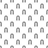 Archway antyczna ikona, prosty czerń styl Zdjęcie Stock