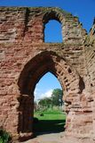 Archway at Arbroath Abbey Stock Photography