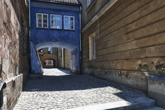 Archway At Tenement House In Warsaw. Royalty Free Stock Images