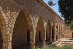 Archway in the Ayia Napa Monastery, Cyprus. Stock Photography