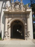 Archway Balboa Park. Archway that is the extension of the MOMA museum at Balboa Park in San Diego Royalty Free Stock Photos