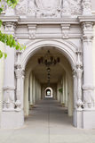 Archway with beautiful columns Stock Photography