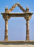 Archway at the City Palace in Udaipur Stock Images
