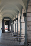 Archway in the Collins Barracks in Dublin, Ireland, 2015 Stock Photos