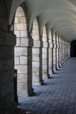 Archway in the Collins Barracks in Dublin, Ireland, 2015 Stock Photo