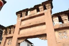 Archway de pedra antigo imagem de stock royalty free