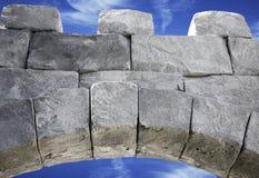 Archway del blocco Immagini Stock Libere da Diritti