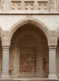 Archway del castello Immagini Stock Libere da Diritti