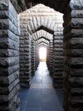 Archway del mattone Immagine Stock