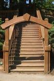 Archway di legno Fotografia Stock