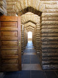 Archway di pietra naturale Immagine Stock