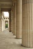Archway di pietra in vecchia costruzione Immagine Stock