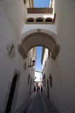 Archway di Sitges Immagini Stock