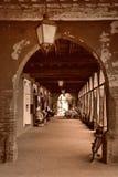 Archway do edifício em Italy fotos de stock royalty free