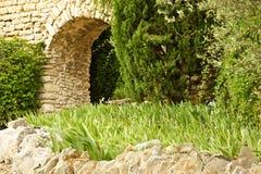 Archway do jardim imagens de stock