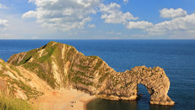 Archway durdle door - british unesco heritage Royalty Free Stock Photography