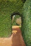 Archway in an English Landscape Garden Stock Photos