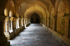Archway, Fontenay Abbey, France Royalty Free Stock Images