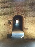Archway at Fort Clinch State Park Stock Image