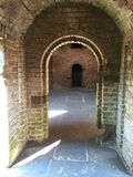 Archway at Fort Clinch State Park Stock Photos