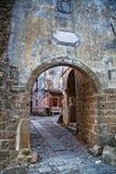 Archway in Groznjan, Croatia Stock Image